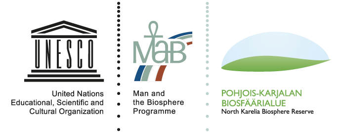 United Nations Educational, Scientific and Cultural Organization, Man and the Biosphere Programme, Pohjois-Karjalan biosfäärialue / North Karelia Biosphere Reserve.